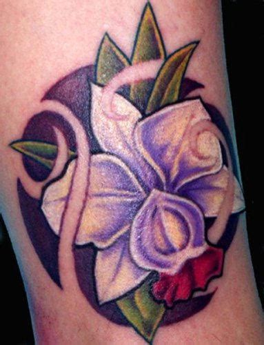 purple orchid tattoo designs orchid tattoos page 2