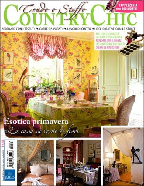 tendaggi country chic abbonamento alla rivista cartacea tende e stoffe country