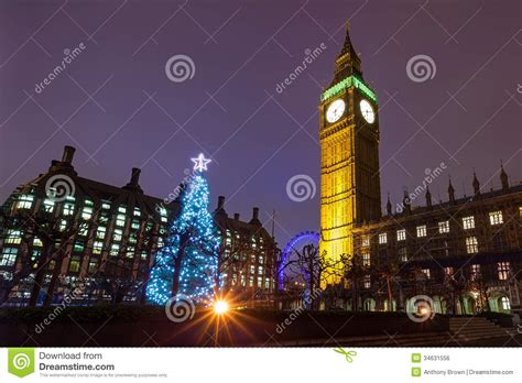 xmas tree hsitory in britain westminster on a stock photo image 34631556