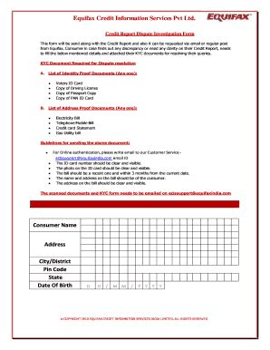 Sle Form For Credit Investigation Credit Investigations And Reports Fill Printable Fillable Blank Pdffiller