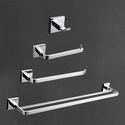 Brass And Chrome Bathroom Accessories Chrome Brass Bath Accessories Set Bath Accessories Towel Bar Bathroom Hardware Ebay