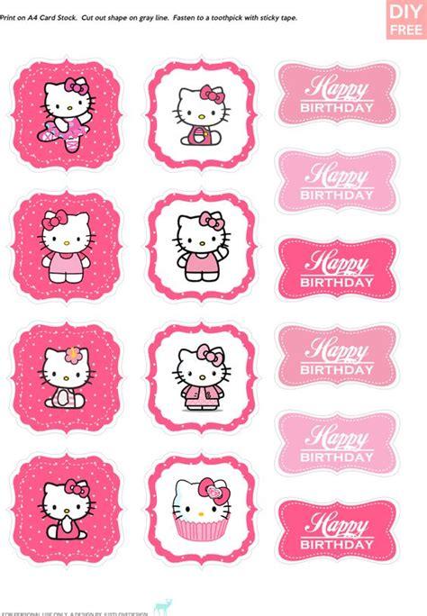 Paper Bag Hello Murah 26 X 31 X 12 Cm 3129f diy free hello cupcake topper justlovedesign