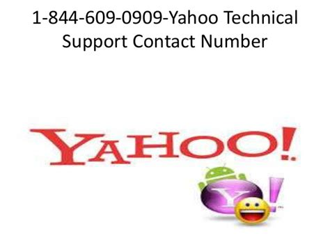 email yahoo tech support 1 844 609 0909 yahoo tech support number