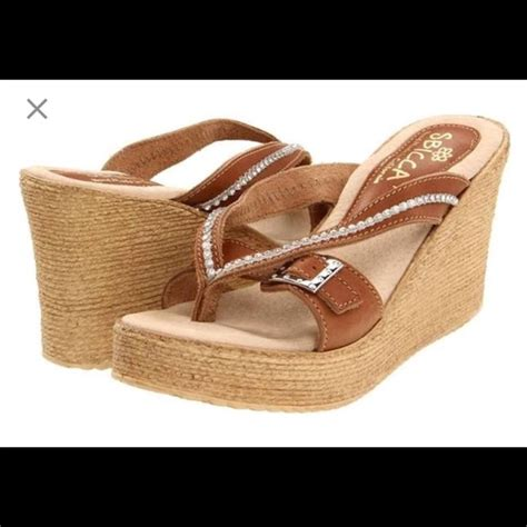 62 sbicca shoes sbicca light brown wedges from