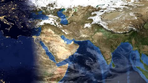 middle east map hd middle east morning time lapse map of planet earth with