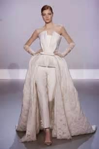 Bride in pants white wedding suit bridal musings wedding blog 3 jpg