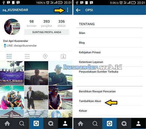 cara membuat dua akun instagram dalam satu hp cara login dua akun instagram di 1 hp android tanpa
