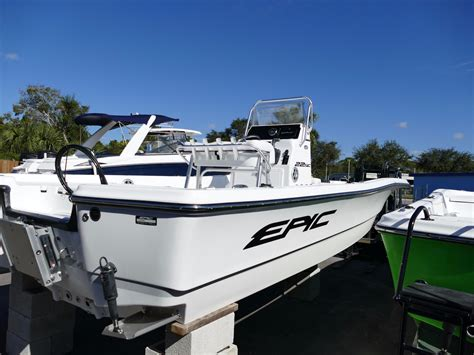 epic boat financing 2017 new epic 22 sc silver stripe a80 bay boat for sale