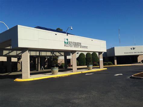 Riverside Hospital Emergency Room by Riverside Walter Reed Hospital Begins Expansion In