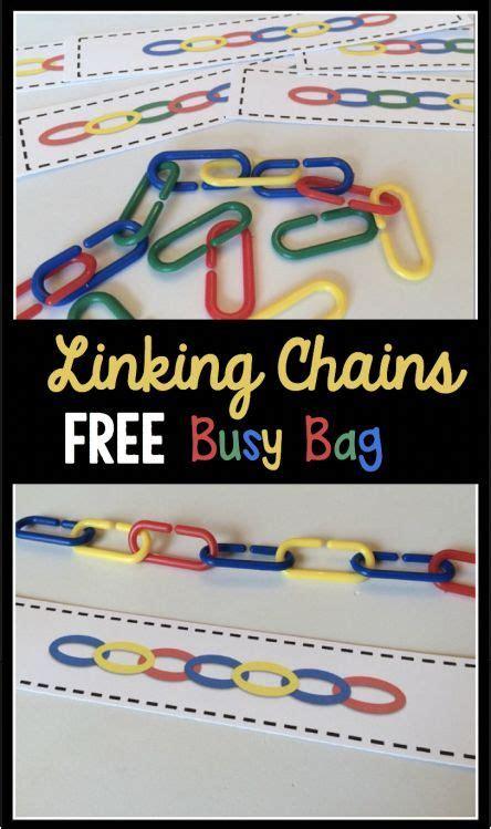 printable toddler busy bags free printable preschool and kindergarten center activity