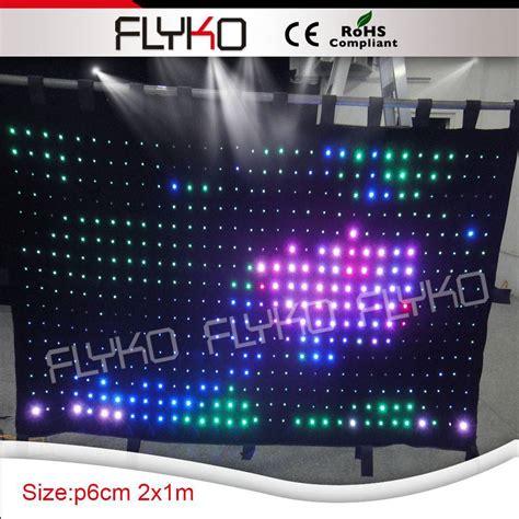 led curtains wholesale wholesale beautiful stage led video curtain led fireproof