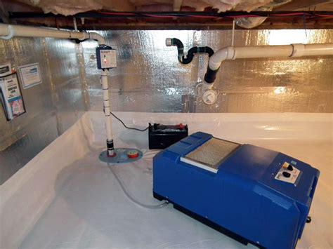crawl space waterproofing moisture cleanspace
