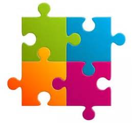 4 puzzle template 4 jigsaw puzzle template clipart best