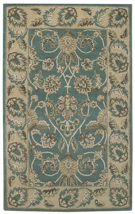 Capel Area Rugs Capel Kingship 3031 220 Teal Beige Area Rug Payless Rugs