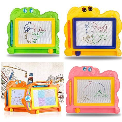 easy writer doodle magnetic drawing board 2017 new children writing doodle stencil painting magnetic