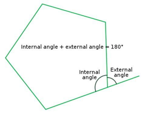 exterior angles math homework