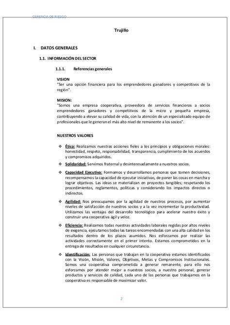 Plan De Riesgo Crediticio Para Disminuir La Morosidad En | plan de riesgo crediticio para disminuir la morosidad en