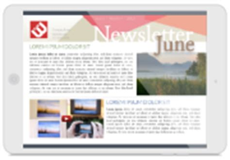 newsletter templates for pages ipad newsletter templates free lucidpress