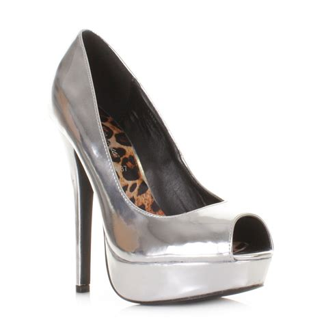 silver high heel shoe silver high heels deals on 1001 blocks