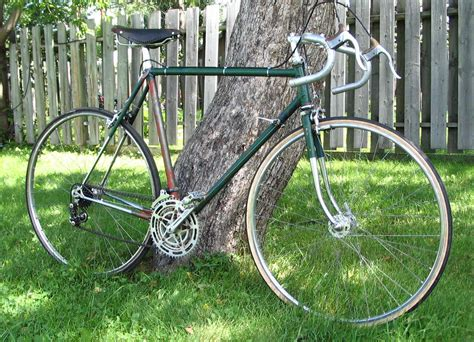 peugeot bike green the restored peugeot px10