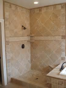 Bathroom Travertine Tile Design Ideas by Travertine Shower On Canopy Beds