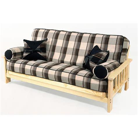 pine futon frame pine grand teton full size futon frame 113142 living