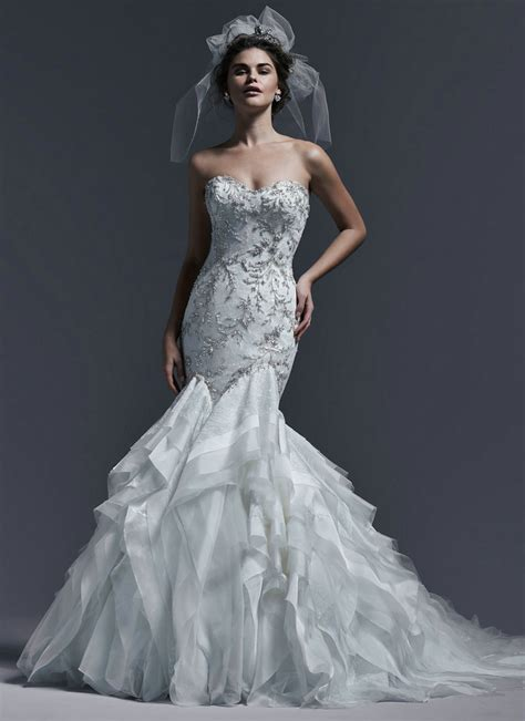 Silver Wedding Dresses by Wedding Dress Silver Dresscab
