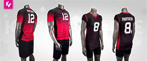 jersey design volleyball mens panthers men s women s volleyball uniforms kv gear