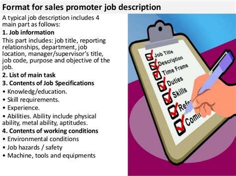 financial auditor job description sales promoter job description