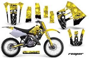 Suzuki Rm 250 Graphics Kit Suzuki Rm 125 250 Graphics Kit Amr Racing Bike Decal Rm125