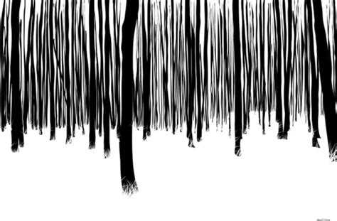 maxwell dickson quot black and white forest quot abstract canvas