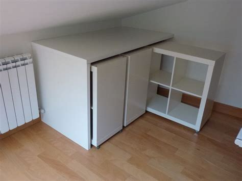 Bücherschrank Ikea by 220 Ber 1 000 Ideen Zu Kallax Schreibtisch Auf