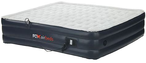 plush high rise king size air mattress
