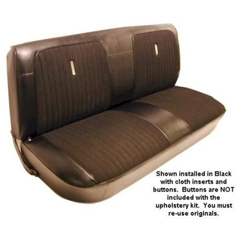 1967 72 Ford Truck Custom Cloth Seat Upholstery