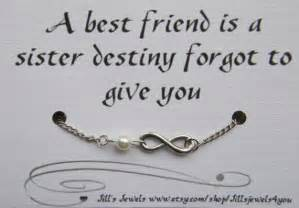 Friendship Infinity Quotes Frienship Infinity Charm Anklet With Pearl And By