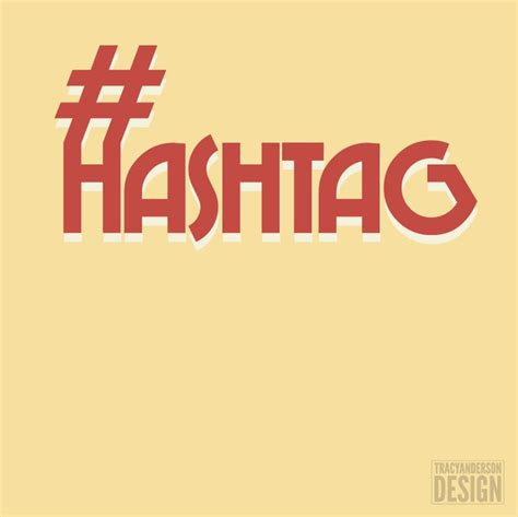 17 Best Images About Hashtag On Typography Baltic Birch And