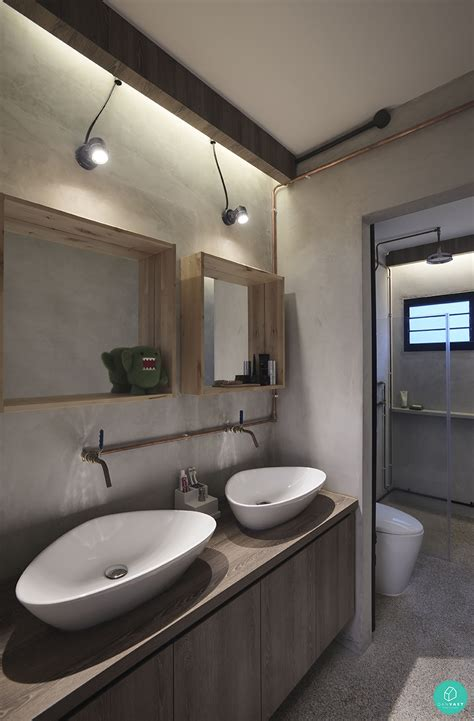 Interesting Bathroom Ideas by Interesting Bathroom Designs For Your Home Wall Wood