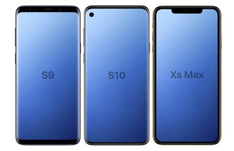 galaxy s10 concept renders reveal its display