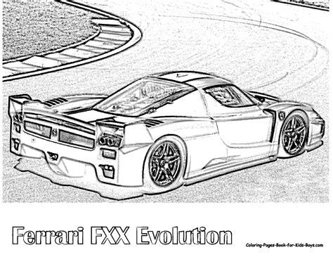 ferrari enzo sketch ferrari enzo coloring pages coloring pages