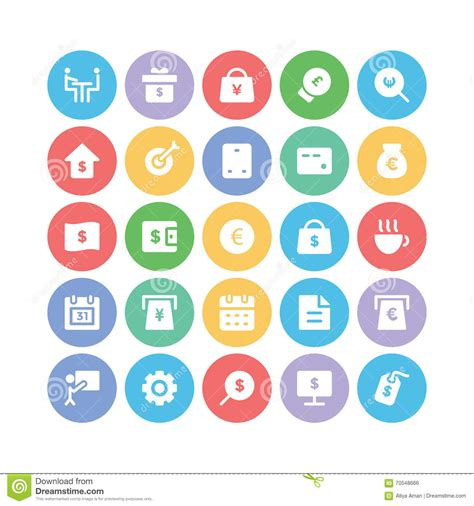 design graphics pack business vector icons 9 stock illustration image 70548666