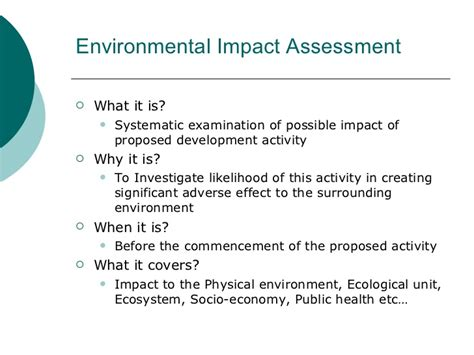 environmental impact report template environmental impact assessment of sentosa integrated resort