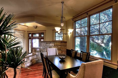 casual craftsman dining room remodel  formal nuance