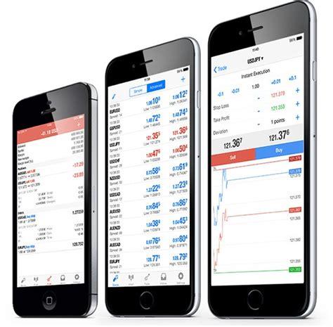 mt4 app metatrader 4 iphone and trading platforms