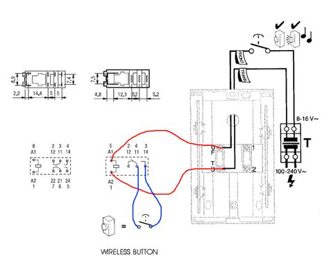 wiring diagram mains doorbell gallery diagram sle and