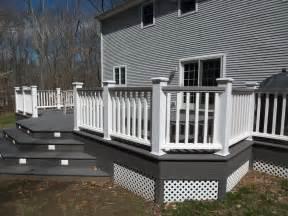 gray deck designers and builders of elegan