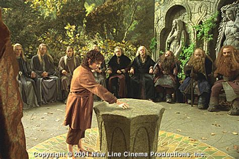 council of elrond lord of the rings the fellowship of the ring my review