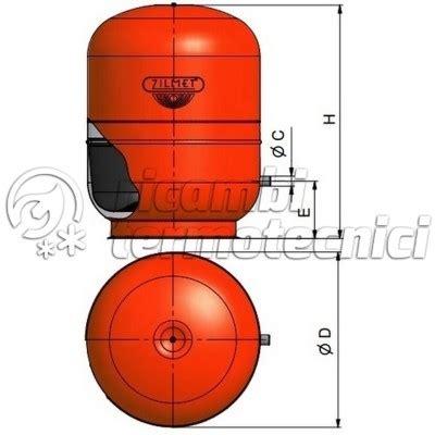 zilmet vaso espansione vasi espansione centrale termica ricambi termotecnici