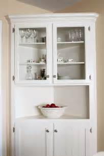 25 best ideas about corner hutch on white