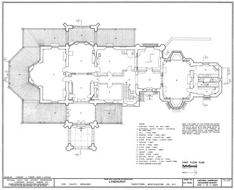 free mansion floor plans file lyndhurst floor plan png wikimedia commons