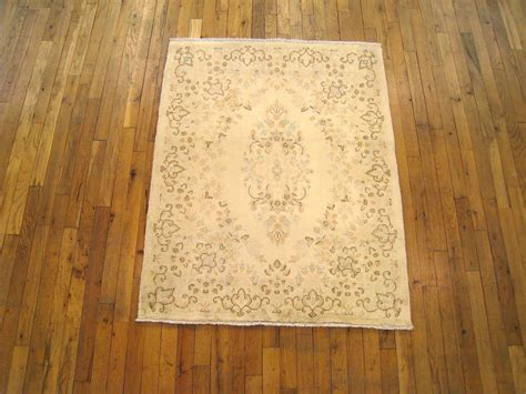 small square rugs vintage kerman rug in small square size with ivory field and floral design for sale at